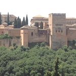 View of the Alhambra from the Saba decks