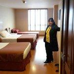 Nuestra habitación 306.