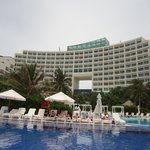 View of Hotel from the Main Pool