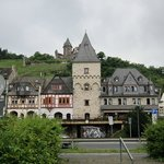 View from the Rhine of the hotel.