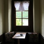 Table nook in our tower room.
