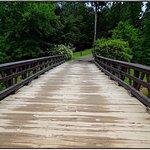 Bridge from Inn to the farm area
