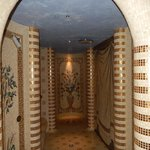 Showers in the Grotta