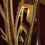 View from 3rd floor landing, actually 6th floor!!!