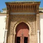 gate to the Mausolem