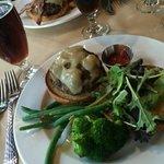 Bison burger (just like beef burger)