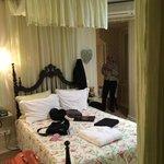 Double bed at Casa De Sao Mamede