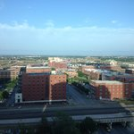 Over view of Bricktown from the room