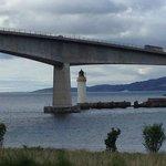 view of Skye Bridge in Kyleakin