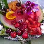 Composizione di frutta fatta da Rino!