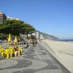 Praia de São Conrado.