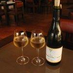 Cold bottle of Chenin Blanc