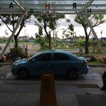 Taxi at lobby