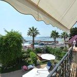 Fransk balkong och en underbar utsikt från Suite Pietra