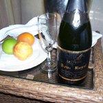 Champagne per gli sposi