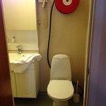 Banheiro do quarto duplo suite