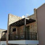 Verandah at the back of Cretan Villa