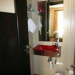 Bathroom - not huge, but effective