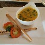 Malunggay pumpkin soup