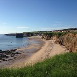 I'm not sure what people want from a beach and cliff location but marsden bay ticks my box.
