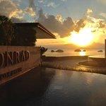 Sunset at Conrad Koh Samui