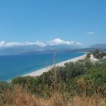 Βλέποντας από το Μαυροβούνι την παραλία !!!