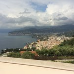 Bay of Naples from sunrise rooms