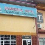 Signage of Samudera Hotel, Kuala Besut, Terengganu