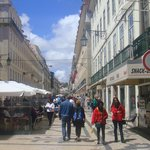 Eateries downtown Lisbon
