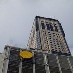 見上げるほどの高層ホテル
