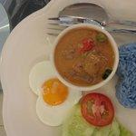 Amazing lamb coconut curry