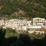 vue générale de l'hôtel