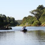 Canoe on the Bua River