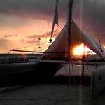Il tramonto a Maayafushi
