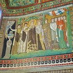 Mosaic of the Empress Theodora and her court