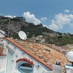 Вид с верхней террасы
