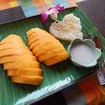 Dessert - Mango with sticky rice