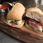 Grilled Tuna Club w/ Soup substitute