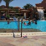 Brilliant large pool