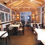 Wintergarten -  ein abgeteilter Bereich des Restaurants