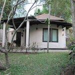 our small garden villa