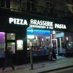 You won't get Italian food here!!