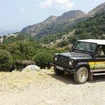 Une des Land Rover