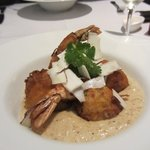 The BEST dish - Tiger Prawns - not for sharing!