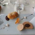 Entrée duo foie gras