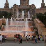 Fountains at Barcelona