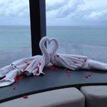 Romantic decorative touches
