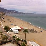 view from balcony towards centre of fuengirola