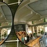 Green Room Café top floor
