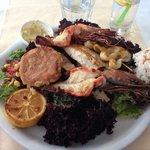 Mixed seafood platter - fantastic!